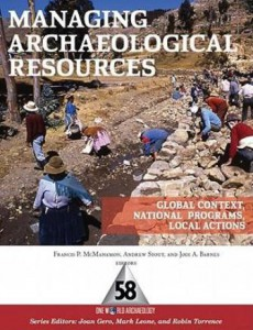 managing-archaeological-resources book cover
