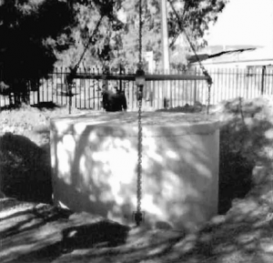 A concrete tank used as a crypt at St Marys CHurch, Adelaide (published in Australian Archaeology 58:17).