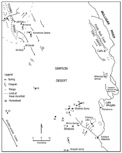 The study area (published in Australian Archaeology 57:33).