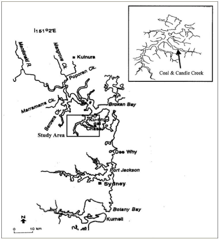 Location of the study area (published in Australian Archaeology 60:18).