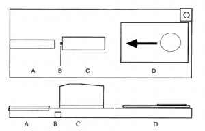 Sketch of the device (published in Australian Archaeology 49:47).
