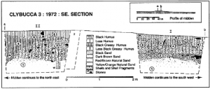 Stratigraphic section (published in Australian Archaeology 48:2).