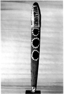 A toa representing a place on Coopers Creek (published in Australian Archaeology 49:17).