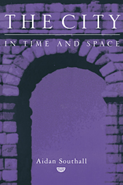 City in Time and Space Book Cover