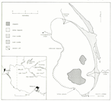Location and geomorphology of Lake Urana (published in Australian Archaeology 38:38).