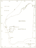 Map of WA with the study area (published in Australian Archaeology 42:19).