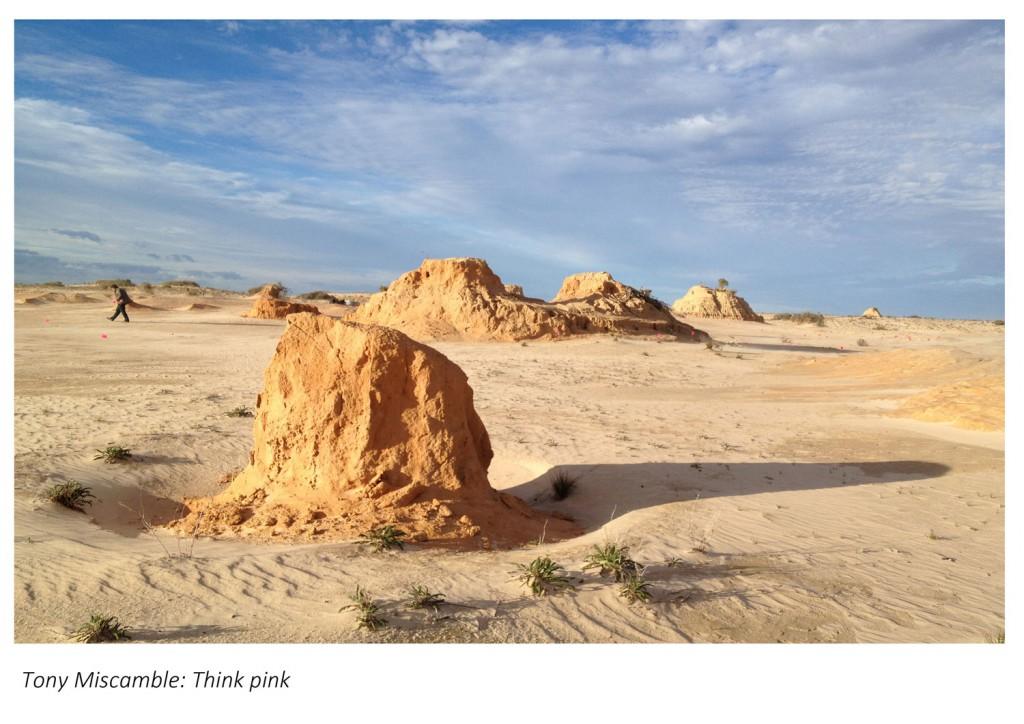 Willandra Lakes (NSW): Location of Australia's very own Pleistocene footprints site.