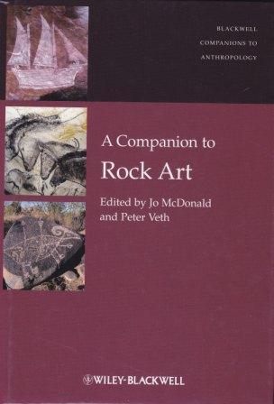 Book Cover A Companion to Rock Art