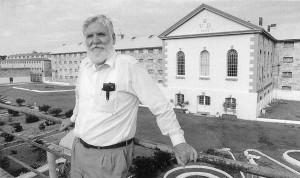 Jim at Fremantle Prison.